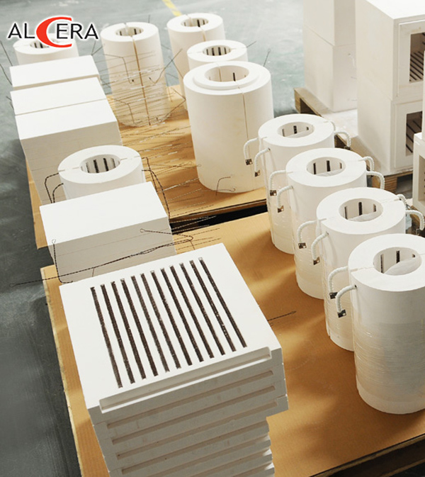 Ceramic Fiber Vacuum Formed Shapes / Electric Heating Module